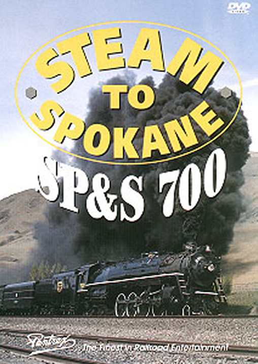 Steam to Spokane DVD Train Video Pentrex SPS700-DVD 748268003783