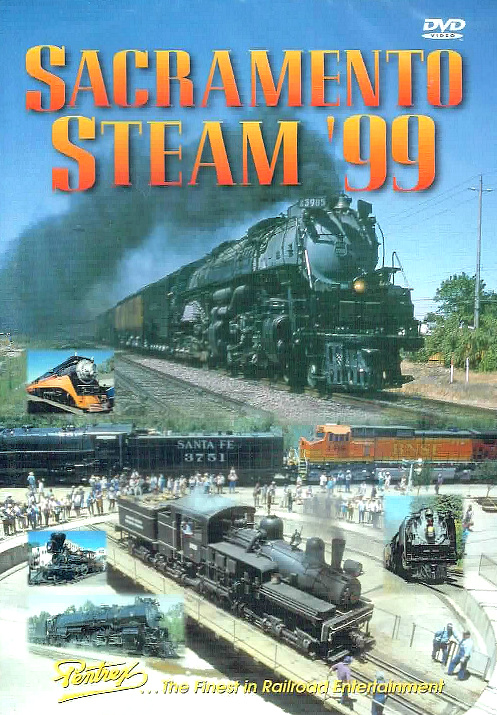 Sacramento Steam 99 DVD Pentrex SS99-DVD 748268004919