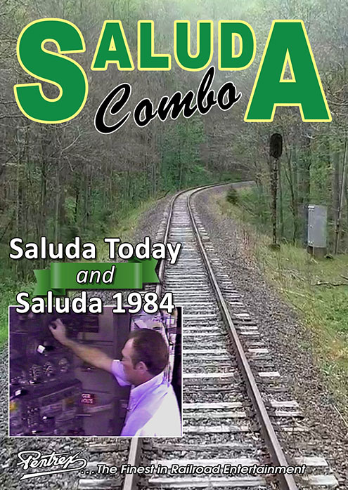 Saluda North Carolina Combo DVD Pentrex SALUDA-DVD