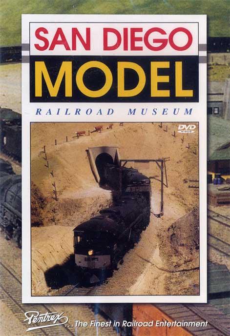 San Diego Model Railroad Museum DVD Pentrex SDMRR-DVD 748268006463