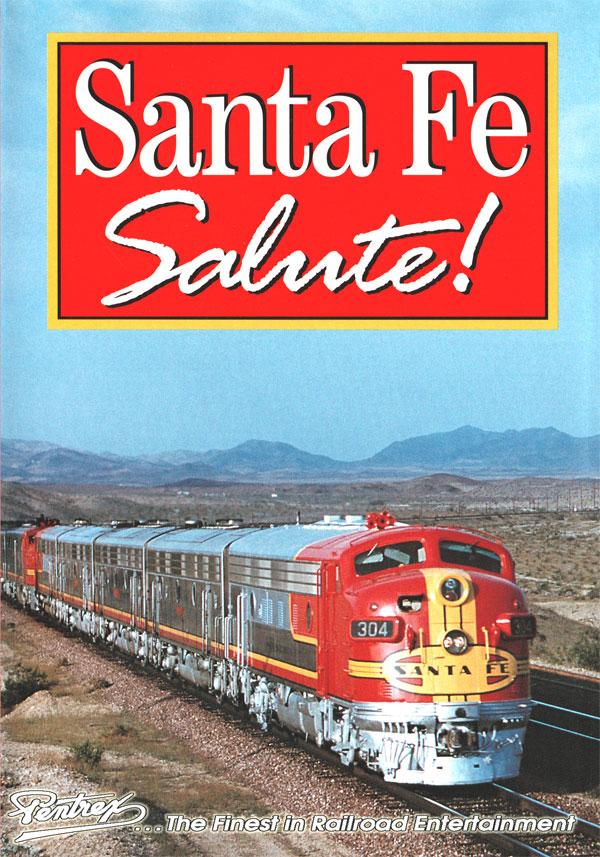 Santa Fe Salute - Super Chief - Cab Ride DVD Pentrex SFS-DVD