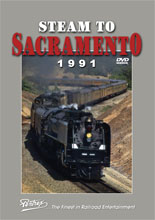 Steam to Sacramento 1991 DVD