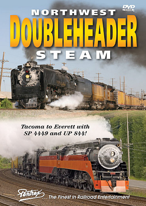 Northwest Doubleheader Steam DVD Train Video Pentrex TAC-DVD 748268005022