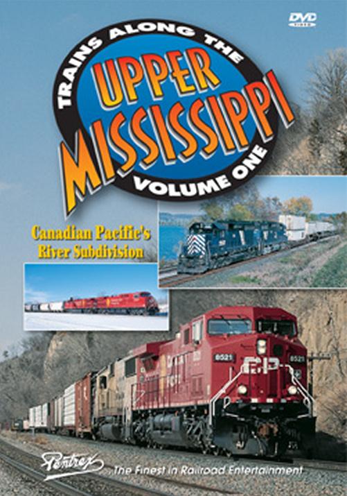 Trains Along the Upper Mississippi Vol 1 DVD Pentrex TAUM1-DVD 748268005329