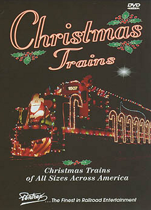 Christmas Trains DVD Train Video Pentrex TMAS-DVD 748268004605