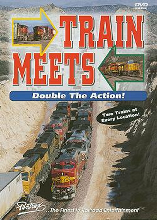 Train Meets Vol 1 DVD Train Video Pentrex TMDA-DVD 748268004032