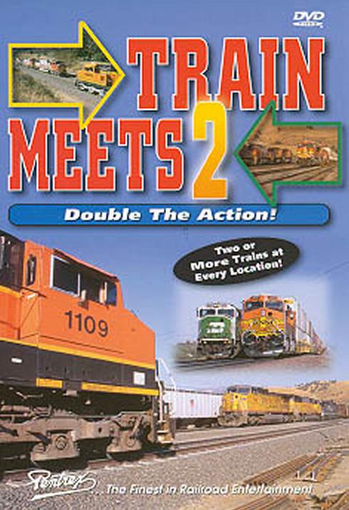 Train Meets 2 - Double the Action! DVD Pentrex TMDA2-DVD 748268004506