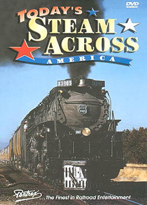 Todays Steam Across America 2-Disc Set DVD Pentrex TSAA-DVD 748268004247