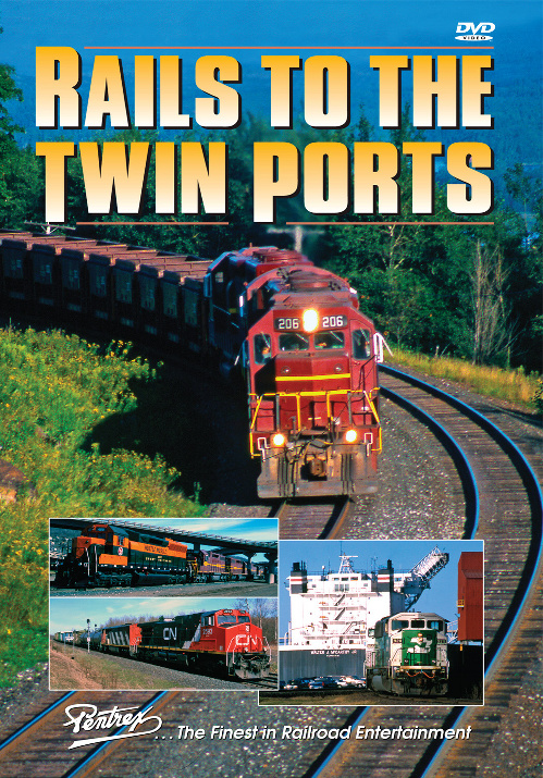 Rails to the Twin Ports DVD Pentrex TWINP-DVD 748268005855