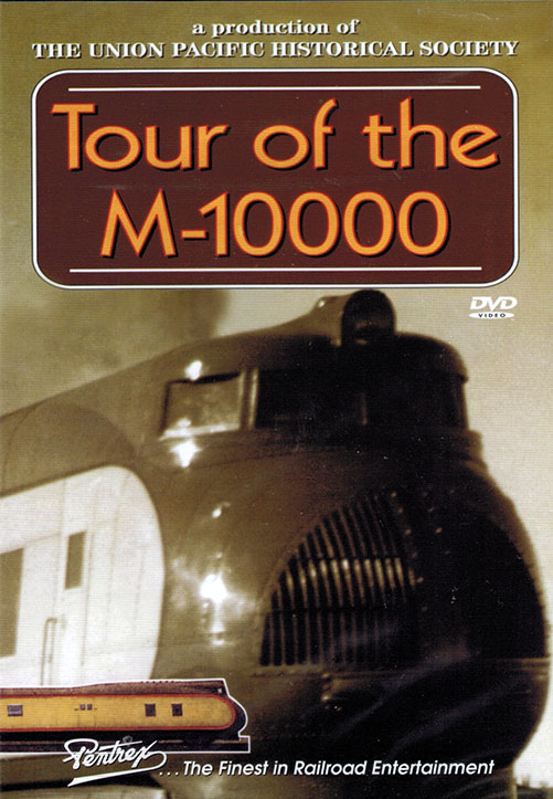 Tour of the M-10000 DVD Train Video Pentrex UPM10-DVD 748268006586