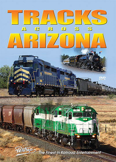 Tracks Across Arizona DVD Pentrex TAAZ-DVD 748268006555