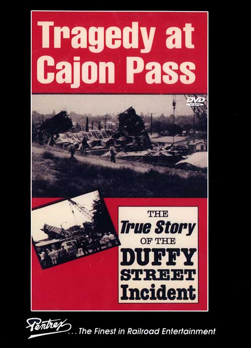 Tragedy at Cajon Pass DVD Train Video Pentrex NV015 748268006456
