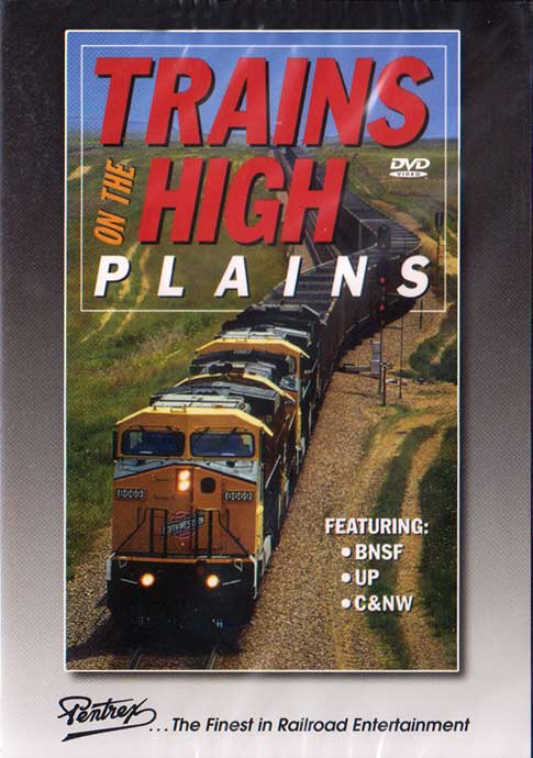 Trains on the High Plains DVD Train Video Pentrex PLAINS-DVD 748268002151