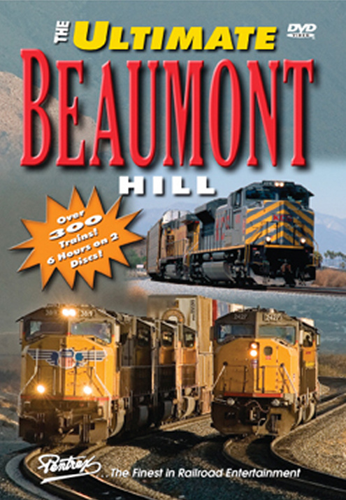 Ultimate Beaumont Hill 2-Disc 6 Hours DVD Train Video Pentrex UBH-DVD 748268005282