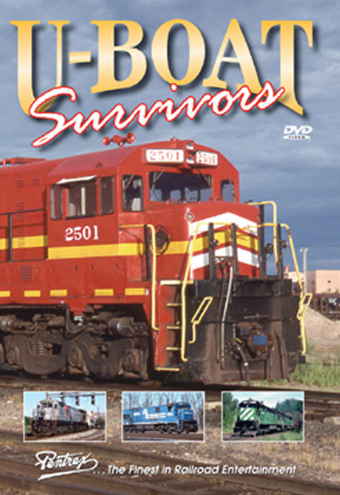 U-Boat Survivors DVD Train Video Pentrex UBOAT-DVD 748268005107