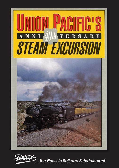Union Pacifics 40th Steam Excursion DVD Train Video Pentrex UP3967-DVD 748268006555