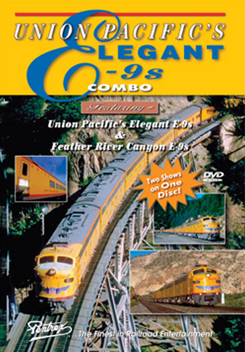 Union Pacifics Elegant E-9s Combo DVD Train Video Pentrex UPE9-DVD 748268005701