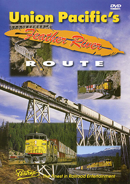 Union Pacifics Feather River Route DVD Pentrex UPFR-DVD 748268004827