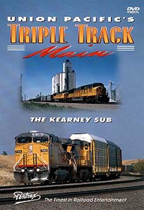 Union Pacifics Triple Track Main DVD Train Video Pentrex UPMAIN-DVD 748268003608