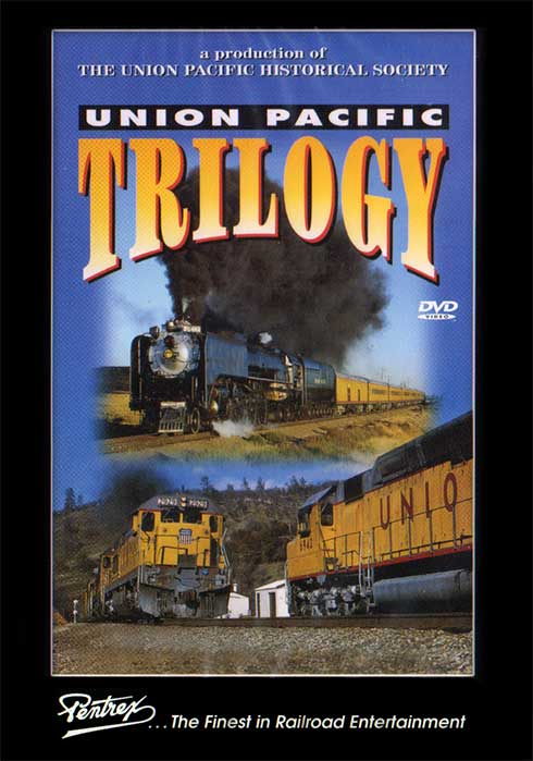 Union Pacific Trilogy DVD Train Video Pentrex UPTRL-DVD 748268003721