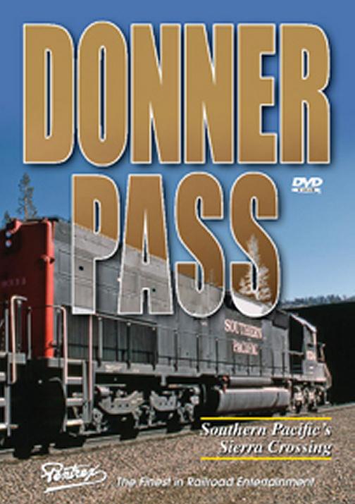 Donner Pass DVD Train Video Pentrex VR016-DVD 748268005084