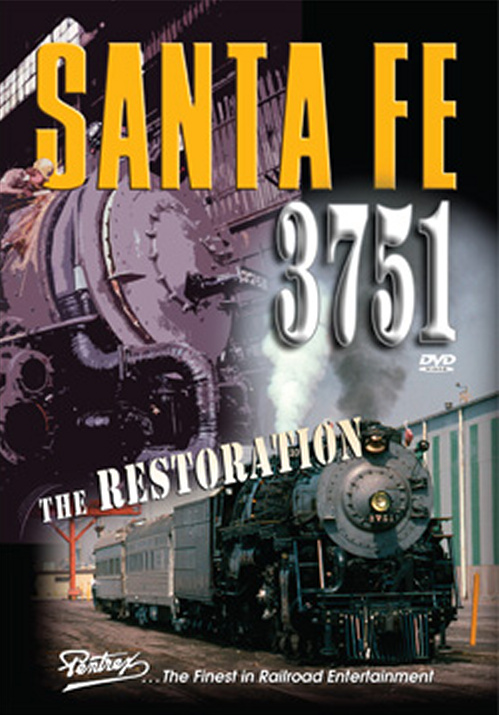 Santa Fe 3751 - The Restoration DVD Pentrex VR043-DVD 748268006067
