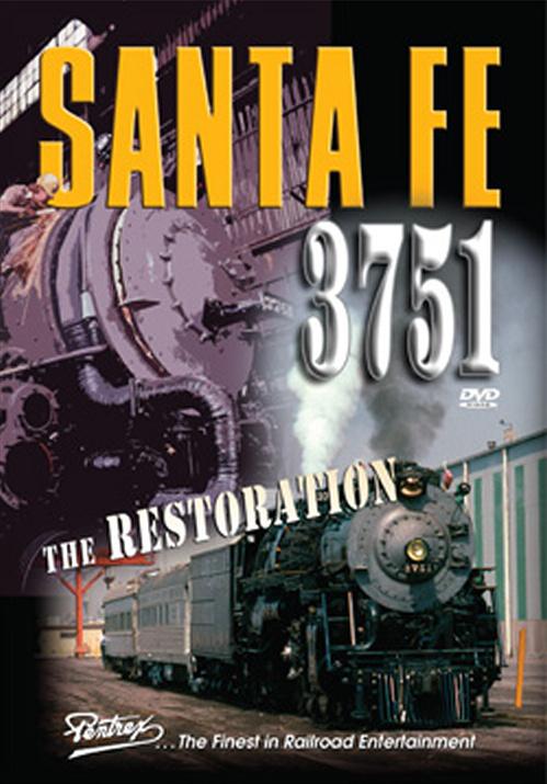 Santa Fe 3751 - The Restoration DVD Pentrex VR043-DVD 748268006067