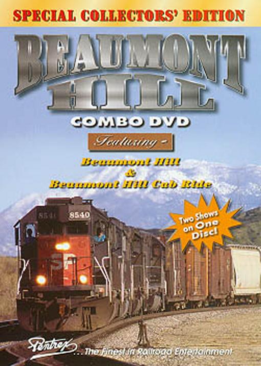 Beaumont Hill Combo DVD Train Video Pentrex VRBEAU-DVD 748268004575
