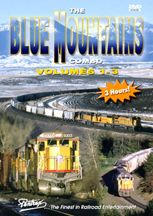 Blue Mountains Vols 1-3 Combo on DVD Pentrex VRBLUE-DVD 748268004940