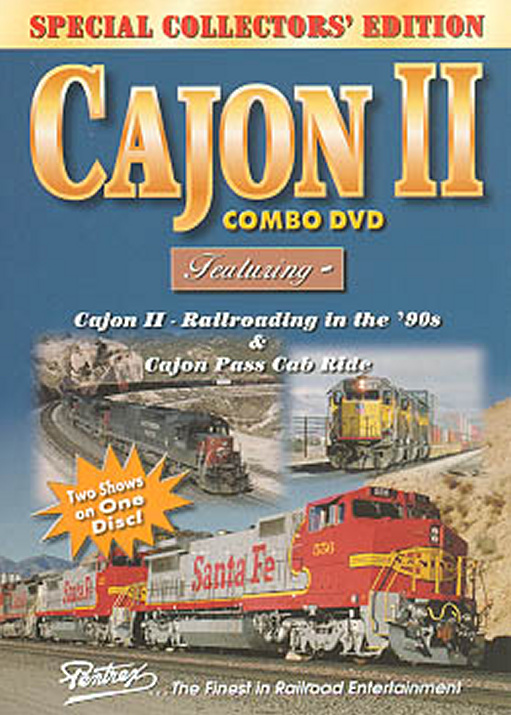 Cajon II Combo DVD Train Video Pentrex VRCAJON2-DVD 748268004513