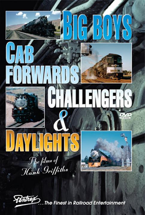 Big Boys Cab Forwards Challengers & Daylights DVD Train Video Pentrex VRHG-DVD 748268005831