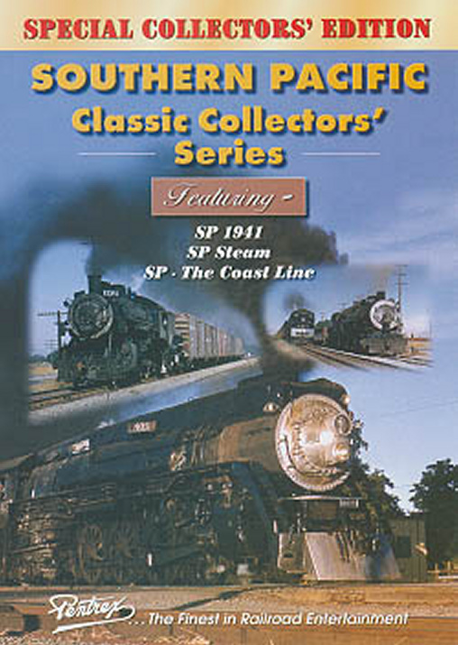 Southern Pacific Classic Collectors Series Combo DVD Train Video Pentrex VRSP-DVD 748268004414