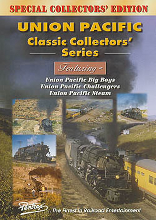 Union Pacific Classic Collectors Series Combo DVD Pentrex VRUP-DVD 748268004452