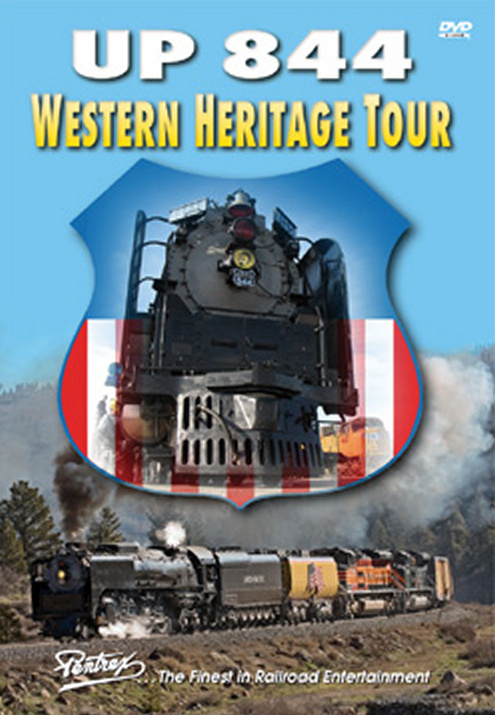 Union Pacific UP 844 Western Heritage Tour DVD Train Video Pentrex WHT-DVD 748268005466