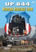 Union Pacific UP 844 Western Heritage Tour DVD