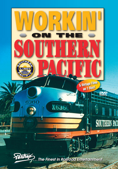 Working on the Southern Pacific DVD Train Video Pentrex WOTSP-DVD 748268005435