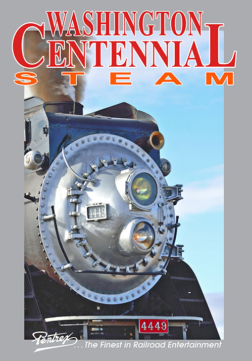Washington Centennial Steam DVD Pentrex WASH-DVD 634972958955