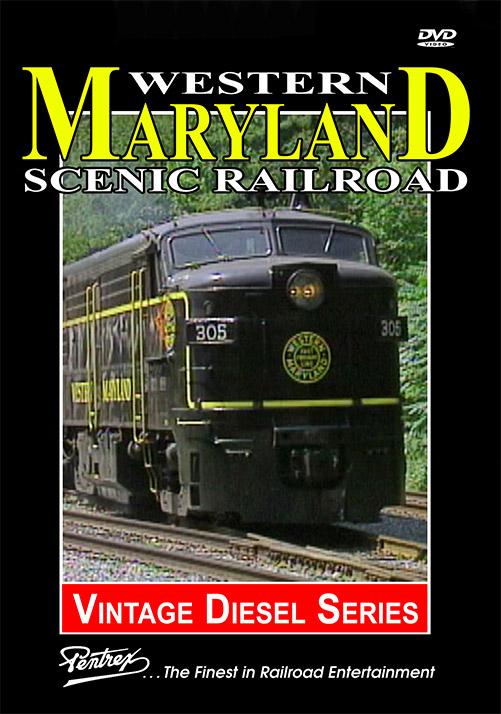 Western Maryland Scenic Railroad DVD Train Video Pentrex WMSR-DVD 634553982591