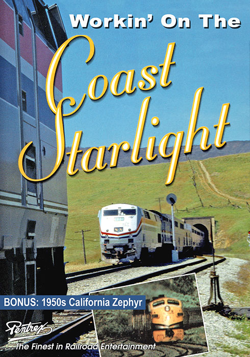 Workin on the Coast Starlight DVD Pentrex WCS-DVD 634972955428