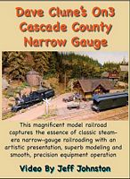 Dave Clunes Cascade County Narrow Gauge DVD