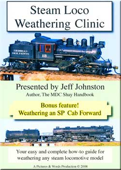Steam Loco Weathering Clinic DVD Train Video Pictures and Words Productions PW-SLW