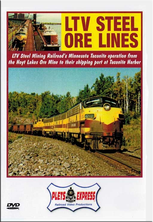 LTV Steel Ore Lines DVD Plets Express 002LTVO