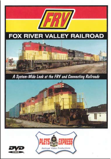 Fox River Valley Railroad DVD Train Video Plets Express 005FRVR 753182980041