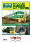 Nicolet Badger Northern Railroad NBN DVD