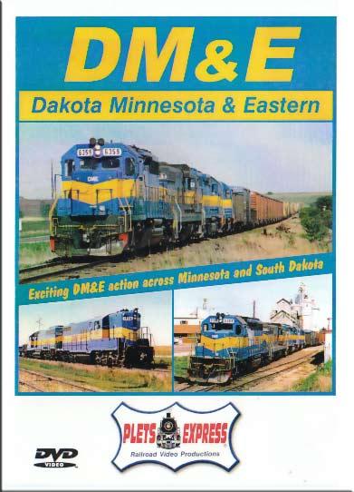 Dakota Minnesota & Eastern DVD Plets Express 011DME