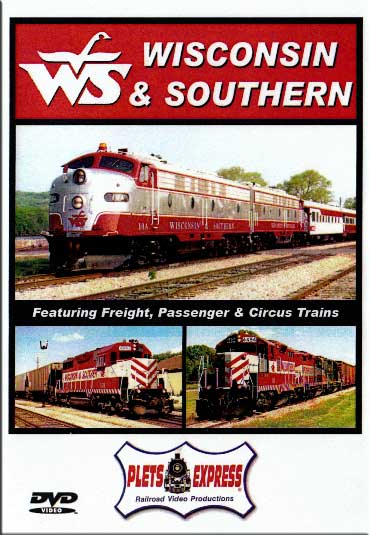 Wisconsin & Southern DVD Plets Express 020WSOR