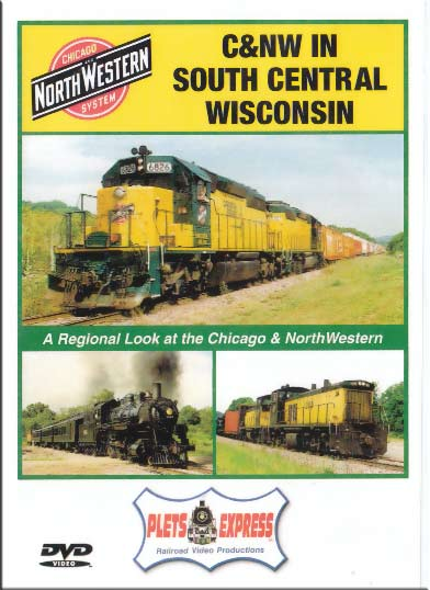 Chicago & North Western in South Central Wisconsin DVD Plets Express 022CNWS 753182980218
