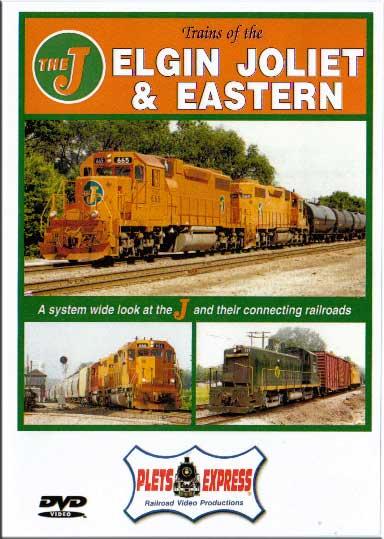 Trains of the Elgin Joliet & Eastern DVD Train Video Plets Express 023EJE