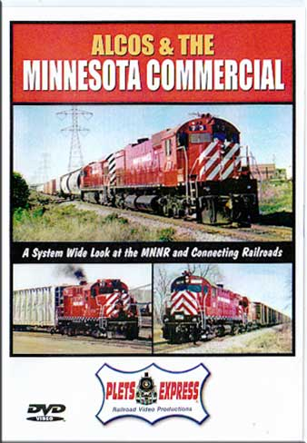 Alcos & the Minnesota Commercial DVD Train Video Plets Express 027MNNR