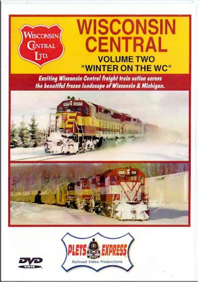Wisconsin Central Vol 2 Winter on the WC DVD Train Video Plets Express 037WC2